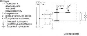 электрическая схема водонагревателя gorenje tgr.